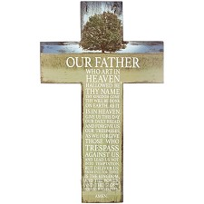 Prayer cross lord's Prayer