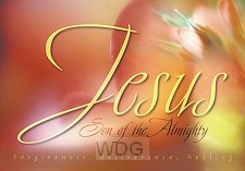 Poster a2 Jesus Son of the Almighty