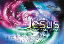 Poster a4 Jesus almighty Lord