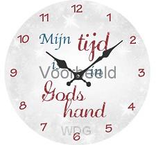 Klok mijn tijd is in Gods hand