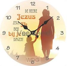 Klok de Heere jezus zegt ik ben bij je