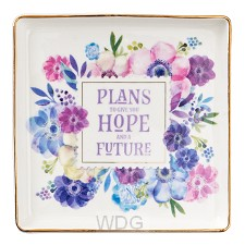 Plans to give you hope - 114 x 114mm