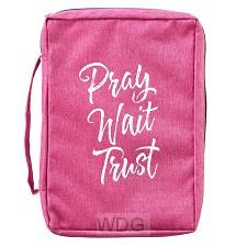 Pray Wait Trust - Poly-Canvas
