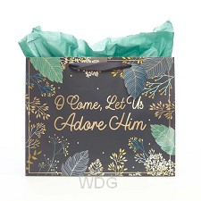 O come let us adore Him -320x110x254 mm