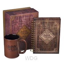 Man of God - Journal & Mug