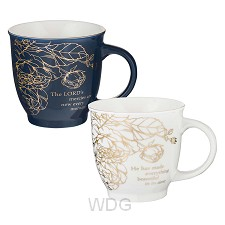 A beautiful morning - Set of 2 mugs