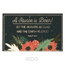 A Savior is Born Christmas - Psalm 96:11
