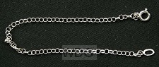Armband zilver jasseron 2 18cm