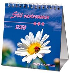 Kalender 2018 sv stil vertrouwen