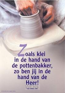 Poster a4 pottenbakker