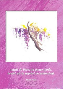 Poster a4 ps 98:4 juicht de Here gij...
