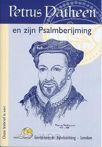 Lesbrief petrus datheen & zijn psalmberi