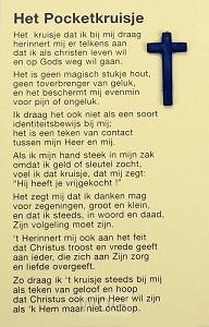 Pocketkruisje nederlands
