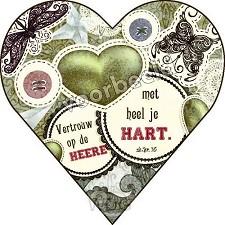 90-13 hart met envelop luxe kaart