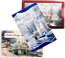 Assorted cards - Kinkade collection