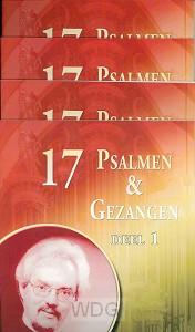 17 psalmen en gezangen set 4 dln