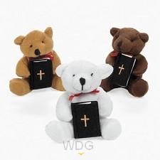Kleine beer met bijbeltje