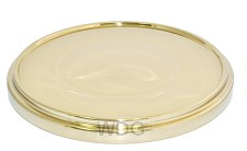 Communion breadplate base - Brasstone