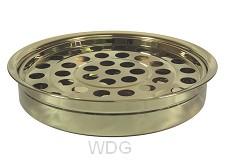 Communion tray 40 holes gold