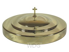 Communion tray cover gold