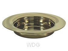 Communion breadplate stacking gold