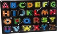 ABC puzzel hout