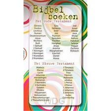 Kaart kinder alle bijbelboeken