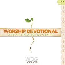 Worship devotional - january