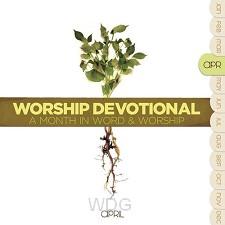 Worship devotional - april