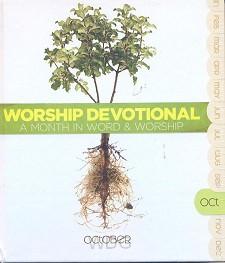 Worship devotional - october