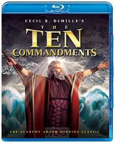 10 commandments (blueray)