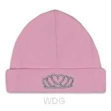Baby hat tiara pink