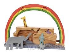 Ark/regenboog uitneembare figuren
