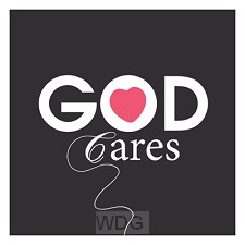 Wk vierkant puur God cares