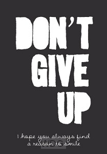 WK puur don't give up