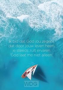 Poster ik bid dat God jou zegent