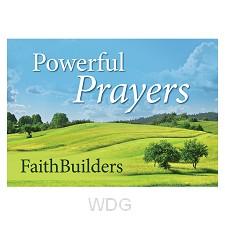 Powerful Prayers - 5 x 4 designs