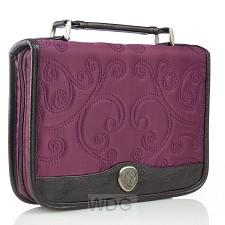 Classic Quilt Stitched - Purple