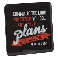 Commit to the Lord whatever you do