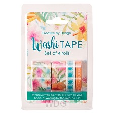 Washi tape - Set of 4 rolls