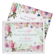 Always be joyful - 40 x 30 cm