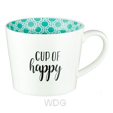 Cup of happy - Aqua