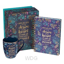 Desire of your heart - Journal & Mug