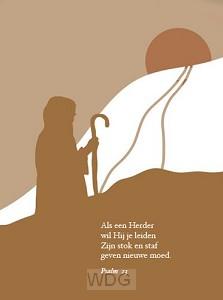 Als een Herder  Psalm 23