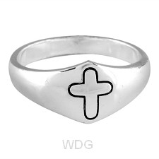 Rounded cross -Size 7 (17mm)