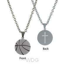 Basketball - Cross - approxx 25 mm