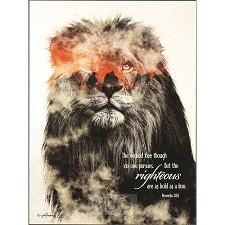 Plaque Lion