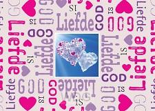 Prentbriefkaart God is liefde