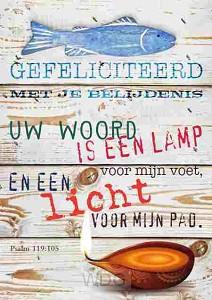 Prentbriefkaart voor je belijdenis