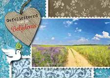 Prentbriefkaart gef met je belijdenis